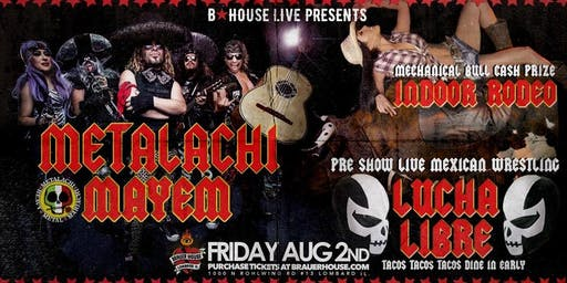 Metalachi: Heavy Metal Mariachi Band with Lucha Libre Mexican Wrestling