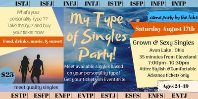 My Type of Singles Party:Food&Wine by the Lake,Play Games Meet Quality Singles