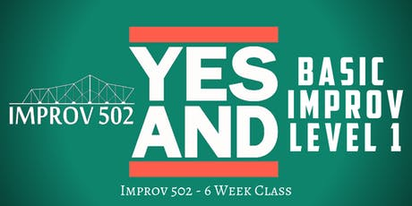 Level One Basic Improv Class (6-Week Intensive) tickets