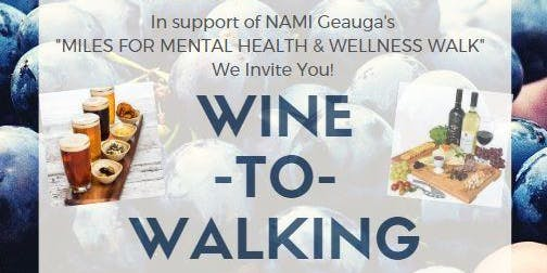 Wine-to-Walking Charity Event