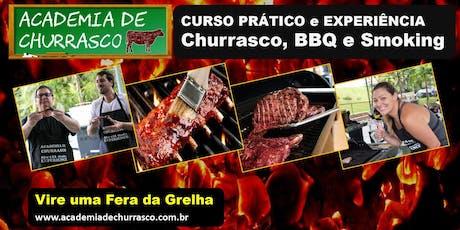 ACADEMIA DE CHURRASCO: CURSO SÁBADO 03/AGO ingressos