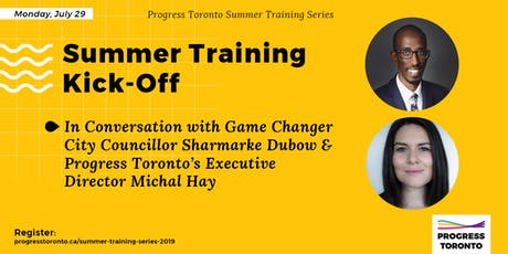 Summer Training Series Kick-Off with Victoria Councillor Sharmarke Dubow tickets