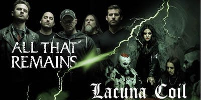 All That Remains + Lacuna Coil