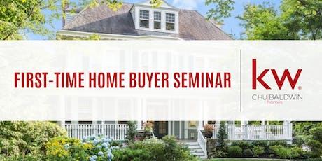 NJ First-Time Home Buyer Seminar w/ Chu Baldwin Homes tickets