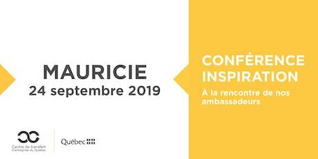 Les Rdv du repreneuriat - Conférence Inspiration en Mauricie billets