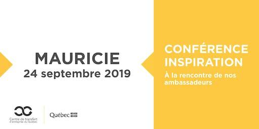 Les Rdv du repreneuriat - Conférence Inspiration en Mauricie
