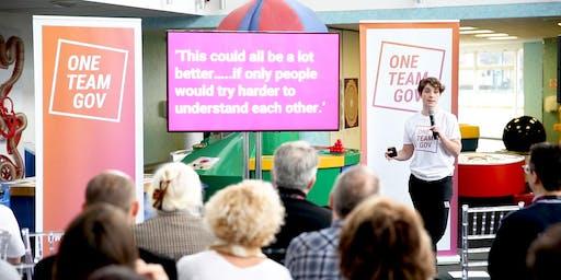 One Team Gov Wales weekly meetup - presentation practice