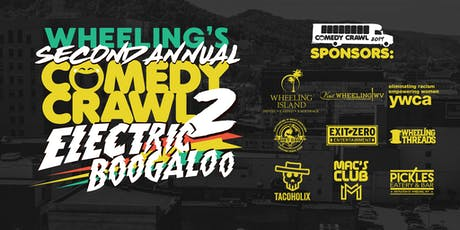 Second Annual Wheeling Comedy Bar Crawl 2019 tickets