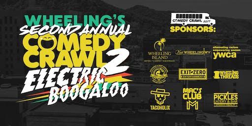 Second Annual Wheeling Comedy Bar Crawl 2019