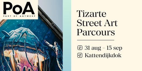 Tizarte Street Art Parcours 2019 -kick off tickets
