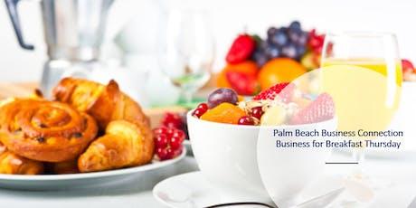 Business for Breakfast Thursday tickets