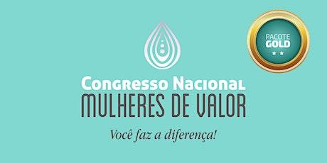 Congresso Nacional Mulheres de Valor 2020 - GOLD ingressos