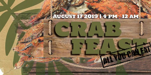 Skyy Blue Lounge & Venue Presents: All You Can Eat Crab Feast