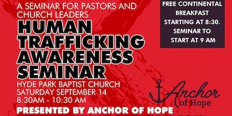 Human Trafficking Awareness Seminar tickets
