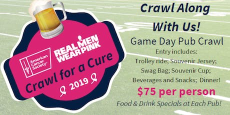 Real Men Wear Pink Crawl for a Cure tickets