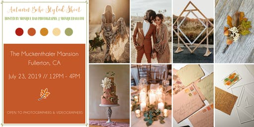 Autumn Boho Styled Shoot by Monique Dao Photography