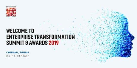 Enterprise Transformation Summit & Awards - Dubai tickets