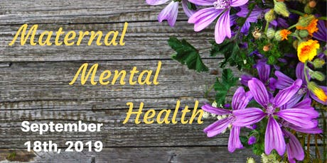 Maternal Mental Health tickets