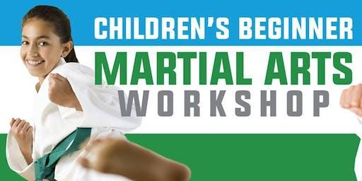 FREE BEGINNER MARTIAL ARTS WORKSHOP!!!