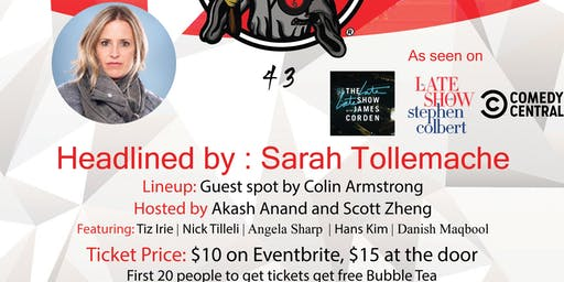 Bubble Tea Comedy Show: Headlined by Sarah Tollemache