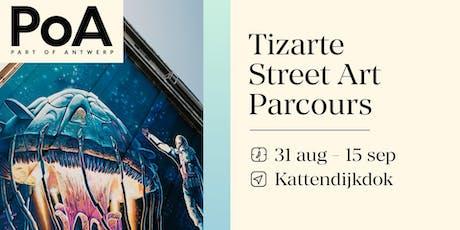 Tizarte Street Art Parcours 2019 - inhuldiging Stormkop tickets
