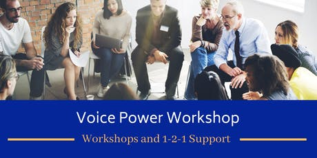 One-day 'Voice Power' Workshop tickets