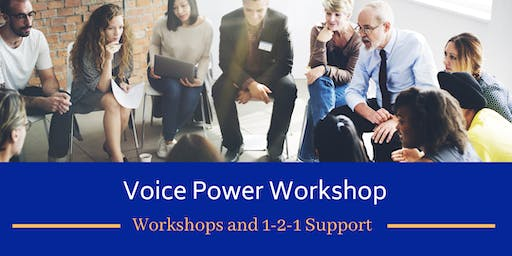 One-day 'Voice Power' Workshop