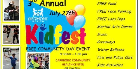 KIDFEST FREE Community Event tickets