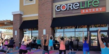 Deep Breathing and Movement (Yoga) @ CoreLife Boardman tickets