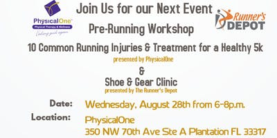 Pre-Running Workshop
