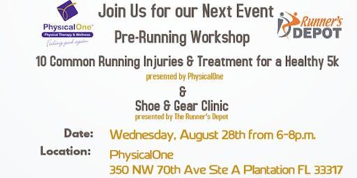 Pre-Running Workshop