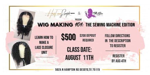 Wig Making 101: Sewing Machine Edition