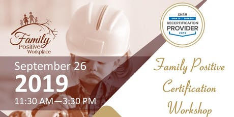 Family Positive Certification Workshop - Muskogee tickets