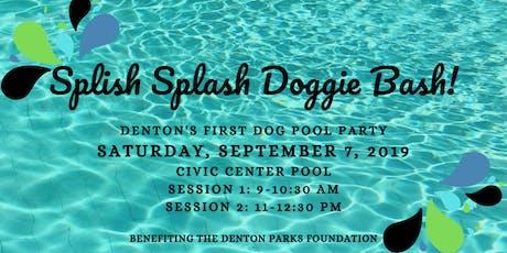 Splish Splash Doggie Bash tickets