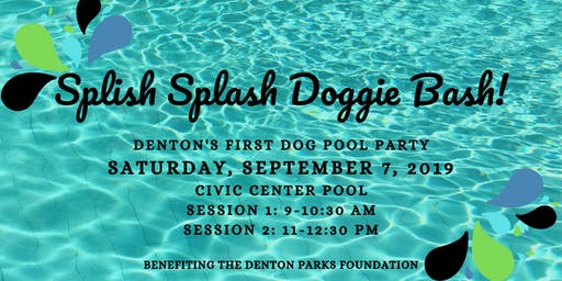 Splish Splash Doggie Bash