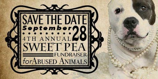 4th Annual Sweet Pea Fundraiser for Abused Animals