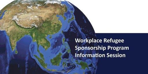 Workplace Refugee Sponsorship Program Information Session: