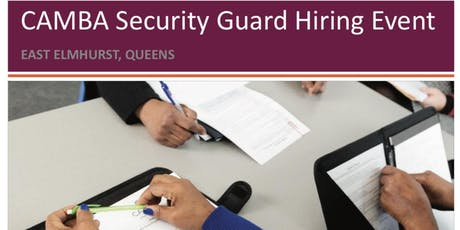 Security Guard Hiring Event tickets