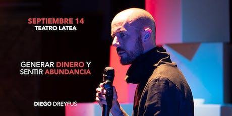 Diego Dreyfus - GENERAR DINERO Y SENTIR ABUNDANCIA - New York tickets
