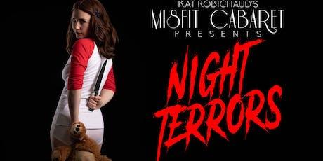 Kat Robichaud's Misfit Cabaret Presents Night Terrors Seattle tickets