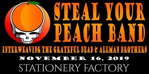Steal Your Peach Band at The Stationery Factory