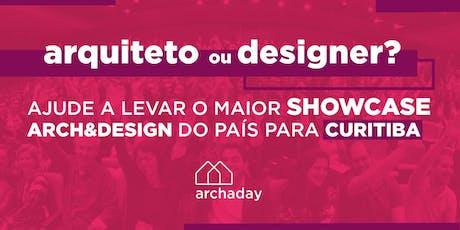Archaday Curitiba | Conteúdo profissional para Arquitetos, Designers de Interiores e Estudantes ingressos