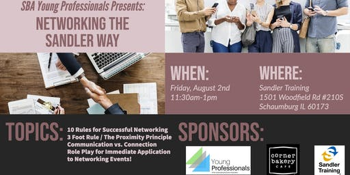 SBA Young Professionals Presents - Networking the Sandler Way