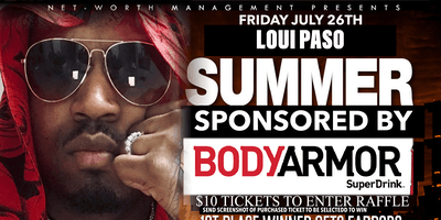 Net-worth mgmt presents A Loui paso summer sponsored by body armor