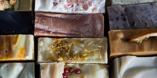 Soapmaking Workshop: Wildflowers & Botanicals in Cold Process Soap (introduction class)