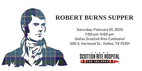 Robert Burns Supper tickets