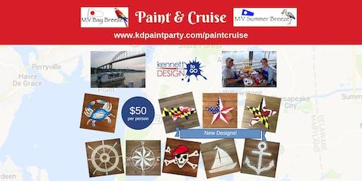 Paint and Cruise - MV Summer Breeze - Havre de Grace - 8/22