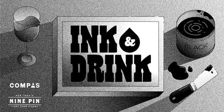 Ink & Drink with Compas Life at Nine Pin Ciderworks tickets