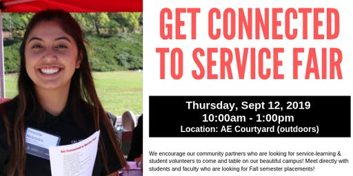 Get Connected to Service Fair