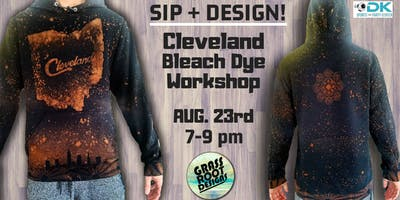 Bleach Dye Clothing Workshop at Dk Play!